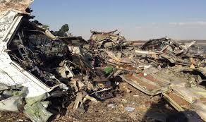 تأكيدات بنسبة 90% تحطم الطائرة المنكوبة بمصر بقنبلة من الداخل وروسيا وبريطانيا تجليان رعاياها من مصر .