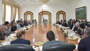 اللجنة العليا للإشراف وتحفيز العمل الرقابي تؤكد دعمها للجهات الحكومية مع مراعاة اختصاصاتها
