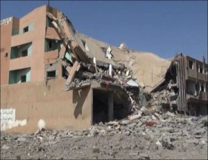 العدوان السعودي الامريكي يدمر مئات المدارس والمعاهد المهنية في اليمن بشكل متعمد