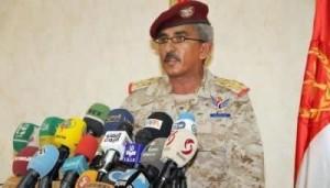 الناطق الرسمي باسم الجيش اليمني العميد شرف لقمان