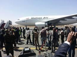وصول اول طائرة روسية الى مطار صنعاء منذ اكثر من 7 اشهر والحصار الخانق الذي تشنه امريكا والسعودية على اليمن