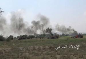 الصورة ارشيف من انتصارات الجيش اليمني واللجان الشعبية في الاراضي اليمنية المحتلة جيزان وعسير
