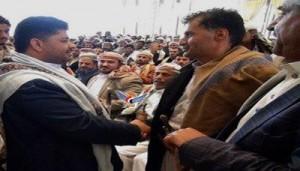 رئيس اللجنة الثورية يلتقي قيادة السلطة المحلية ومشائخ ووجهاء محافظة صنعاء