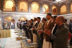 الاحزاب اليمنية تعقد اجتماعا استثنائيا في العاصمة صنعاء وتخرج بوثيقة شرف هامة