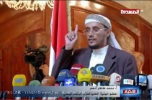 قيادي في حزب الرشاد السلفي يؤكد ان اليمن سينتصر على العدوان وان الحرب على اليمن هي حرب على الشعب باكمله