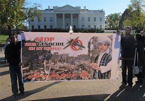 اليمن يشعل انتفاضة الحرية في امريكا ...