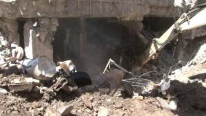 تدمير المنشئات الرياضية في اليمن من قبل العدوان السعودي الامريكي