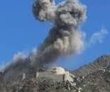 طيران العدوان السعودي الامريكي يشن خمس غارات على منطقتي جربان وعمد في سنحان