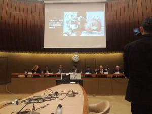 """الان.. جنيف تحتضن ندوة تقيمها عدد من المنظمات الحقوقية بعنوان """"اليمن: الحرب المنسية"""""""