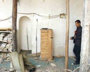العدوان-يدمر-مسجد-النبي-شعيب-الأثري4