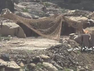 بالصور:  السيطرة على ما تبقى من المواقع والمتارس السعودية في مدينة الربوعة