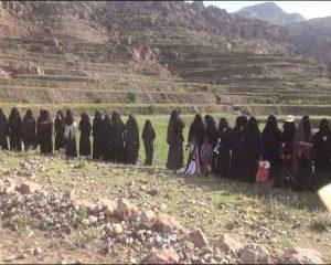 وقفة للقطاع النسائي بجبل النبي شعيب0