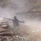 انتصارات كبيرة للجيش واللجان  وتطهير مواقع للمرتزقة في يام والمدفون ووادي ملح بمديرية #نهم