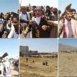 قبائل بني مطر تعلن النفير العام استجابة لدعوة القائد والوطن ..