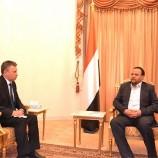 تفاصيل لقاء رئيس المجلس السياسي الأعلى بالقائم باعمال السفارة الروسية بالعاصمة صنعاء