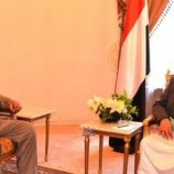 الرئيس صالح الصماد يستقبل رئيس الحكومة الدكتور عبدالعزيز بن حبتور