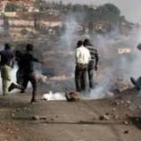 فلسطين المحتلة : إصابة عشرات الفلسطينيين في مواجهات مع الاحتلال في جنين