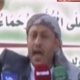 القصيدة العاصفة التي ألقاها الشاعرُ النعمي أمس على الحشود بميدان السبعين في ذكرى المولد النبوي