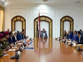 """المجلس السياسي يطلع على خطط وزارة الدفاع لدحر العدوان والاحتلال في مختلف المناطق """"التفاصيل"""""""