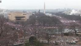 مئات الآلاف من النساء يتظاهرن في مختلف المدن الامريكية ضد ترامب