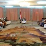 تفاصيل لقاء الرئيس صالح الصماد بوزير الدفاع
