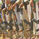 قبائل بني مطر وبني ضبيان بمحافظة #صنعاء تؤكد جهوزيتها لرفد الجبهات في مواجهة العدوان السعودي الأمريكي