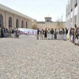 بالصور.. وقفة احتجاجية بمديرية همدان بعنوان : لا للأرهاب الأمريكي على اليمن