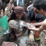 اليوم الدامي في صعدة 26 شهيد وجريح بغارات الحقد الأمريكي السعودي بتواطؤ أممي