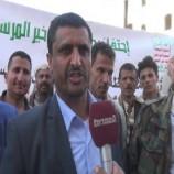 بمناسبة المولد النبوي زيارات ميدانية لقيادة محافظة صنعاء وقافلة شتوية لأبطال الجيش واللجان الشعبية