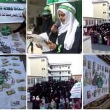 صور.. قافلة غذائية ومالية من نساء مديرية سنحان للجيش واللجان الشعبية