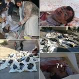 العدوان يرتكب مجزرة بشعة في #مجزرة_سوق_علاف_بسحار ضحيتها الاولية 60 شهيداً وجريحاً